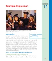 CHAPTER 11   Multiple Regression