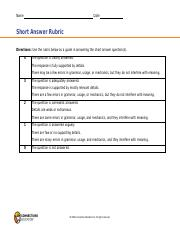 Short Answer Rubric.pdf