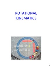 Lecture14 Ch9 RotationalKinematics