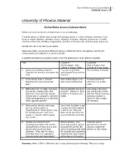 university of phoenix hum 111 week 9 critical thinking Sixty-three percent of women who viewed the third video and expressed an intention to be tested were tested within a 2-week  university, phoenix  critical.