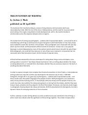 THE INVENTION OF WRITING.pdf