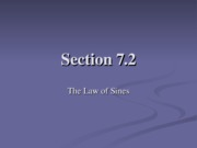 Section 7.2&7.3