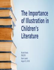 The Importance of Illustration in Childrens Literature
