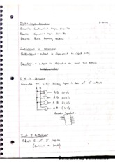 Digital Logic Structures Notes