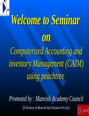 Peachtree -MAC College Seminar.ppt