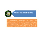 Chapter 8_Contingent Contracts