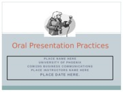 COM 285 Week 5 Learning Team Assignment - Oral Presentation