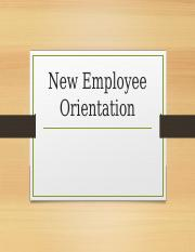 NewEmployeeOrientation