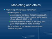 Mktg Ethics and Social Responsiblity PPT