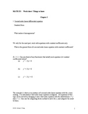 MATH251-Worksheet 2