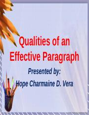 48673394-Qualities-of-an-Effective-Paragraph.pptx