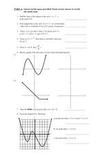 MATH 4U Exam Practice and Answers (1)