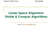 linear_space_alignment