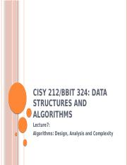 CISY 212 Lecture7 Algorithms Design Analysis and Complexity.pptx