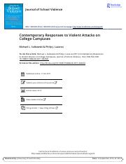Contemporary Responses to Violent Attacks on College Campuses.pdf
