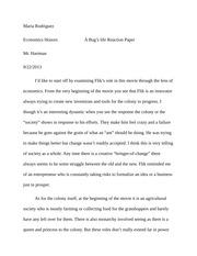 the colonel essay