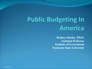 PADM501_B02 Assignment_6 Public Budgeting
