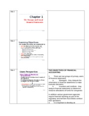Chapter 1 with instructor's notes