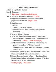 Constitution - Article 1 Notes.docx