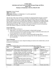 COMM_160SC_Syllabus_Winter_2013_-_Individual_and_Social_Factors_in_Health_Message_Design_and_Effects