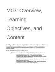 M03_ Overview, Learning Objectives, and Content.docx
