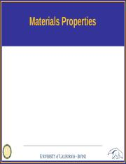 Lecture 2 - Materials Properties.pptx