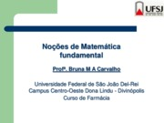 Matematica Fundamental
