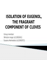ISOLATION-OF-EUGENOL-THE-FRAGRANT-COMPONENT (1)