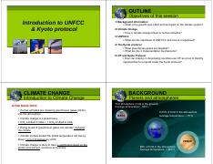 Lectures 6-8 Environmental Resource Management