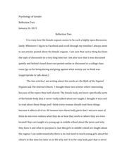 Reflection Essay Two