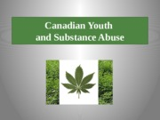 Oct 20 - Youth Substance Abuse