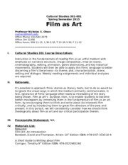 Film as Art, Spring 2015(1)-2