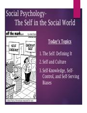 2. PSYC310 -- Chapter 2 -- Self in a Social World-converted.pdf
