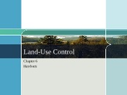 Class 8 A Land Use Control