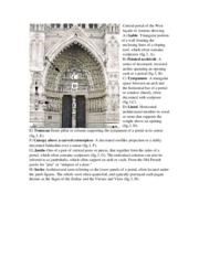 West portal glossary