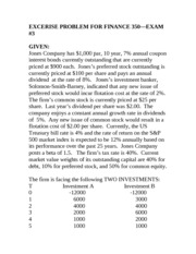 FINANCE_350_EXCERISE_PROBLEM_FOR_FINANCE_350