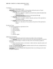ANS 331 - NOTES - 2012-01-20