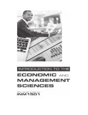 INM 1501 Study Guide