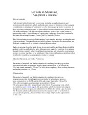 Business Ethics - MGT610 Spring 2007 Assignment 05 Solution