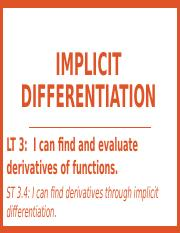 2.5 - Implicit Differentiation - Andrew's notes.pptx