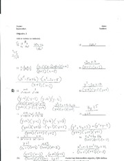 Rational Expressions practice questions