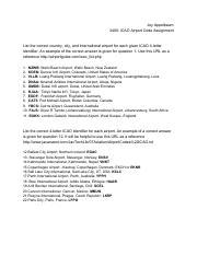 Airport Codes pdf - Austin Brinkerhoff 3400 ICAO Airport