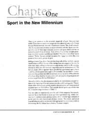 sport in the new millenium[1]