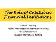 FNCE280 Role of Capital