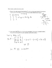 2012 Fall Exam #3 Solutions