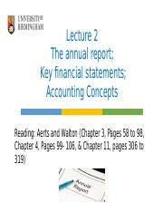 Lecture 2- The annual report-Key financial statements_Accounting Concepts_ Student Version-1 (4).ppt
