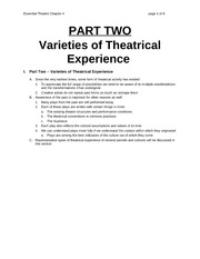Chapter 4 Lecture on Festival Theatre