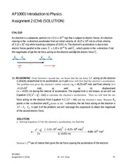 Assignment 2 (Ch4) solution