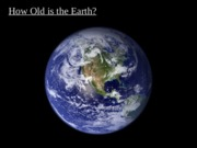 Timeline of Earth (PowerPoint)
