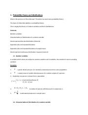 Probability and distribution Theory practice